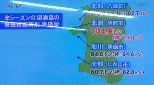 2017秋田のハタハタニュース